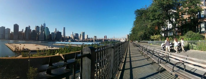 Brooklyn Heights Promenade is one of NYC's Greatest Parks.
