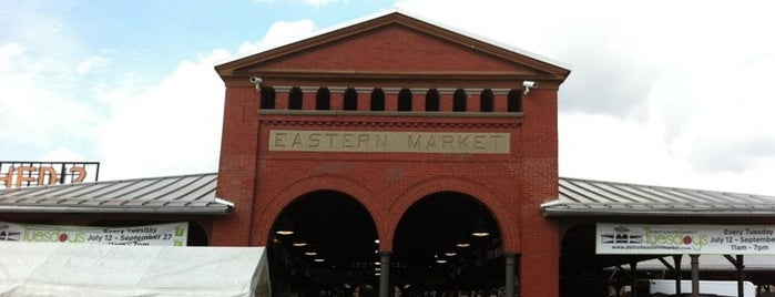Eastern Market is one of America's Freshest Farmers Markets.