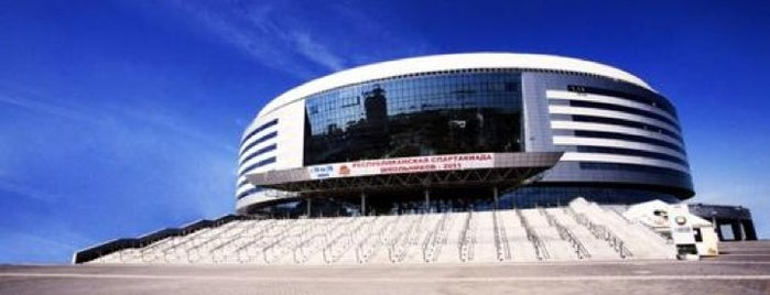 Минск-Арена / Minsk-Arena is one of Istanbul.