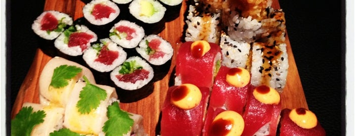 Sticks'n'Sushi is one of London to try.
