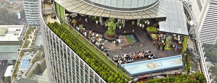 SKYE is one of Jakarta. Indonesia.