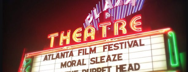 Plaza Theatre is one of Places I Visit : Atlanta.