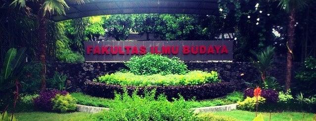 Fakultas Ilmu Budaya is one of Universitas Gadjah Mada.