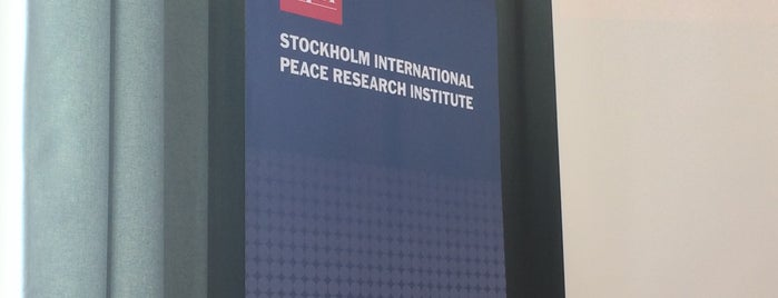 Sipri is one of Estocolmo 2016.