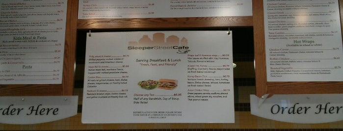 Sleeper Street Cafe is one of Must-visit Food in Boston.