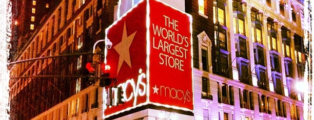 Macy's is one of Must go in NY.