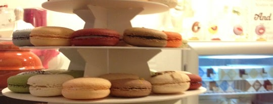 Chantal Guillon Macarons & Tea is one of SF sweets.