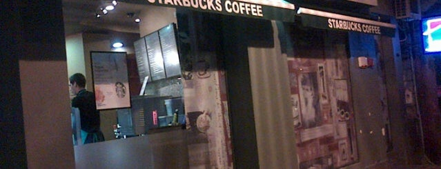 Starbucks is one of coffee houses.