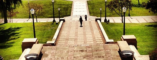 UCLA Janss Steps is one of Cool things to see and do in Los Angeles.