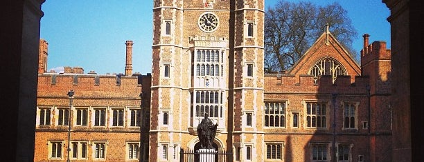 Eton College is one of Favourites.