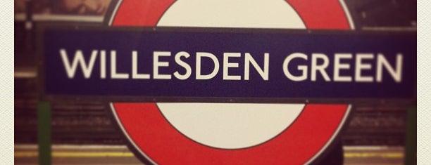 Willesden Green London Underground Station is one of Tube Challenge.