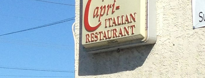 The Capri is one of Oldest Los Angeles Restaurants Part 1.