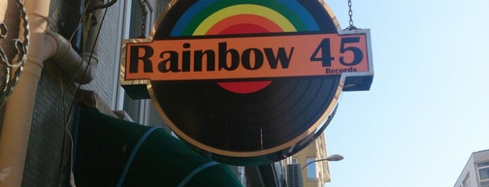 Rainbow 45 is one of Plak.