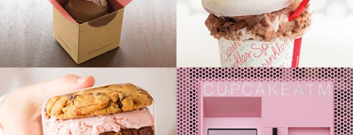 Sprinkles Cupcakes is one of SoCal Screams for Ice Cream!.