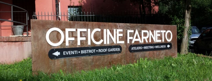 Officine Farneto is one of To Rome with Love.