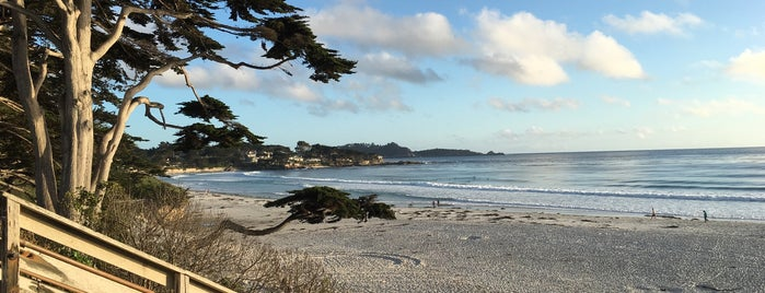 Carmel Beach City Park is one of The 50 Most Popular Beaches in the U.S..