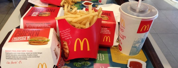 McDonald's / McCafé is one of Surabaya's Best Culinary Spots.