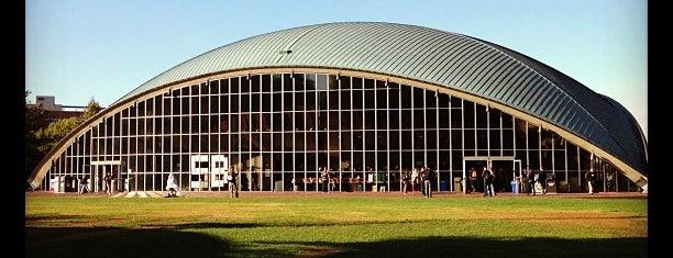 MIT Kresge Auditorium (Building W16) is one of The Arts.