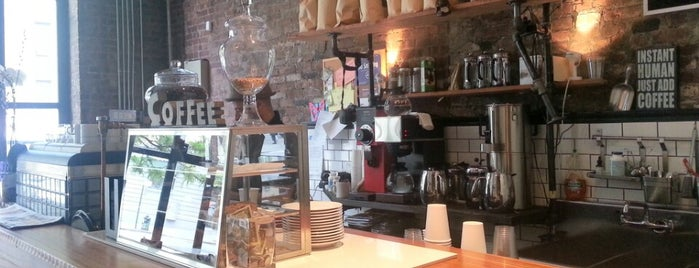 Taszo Espresso Bar is one of Manhattan's Best Coffee by Subway Stop.