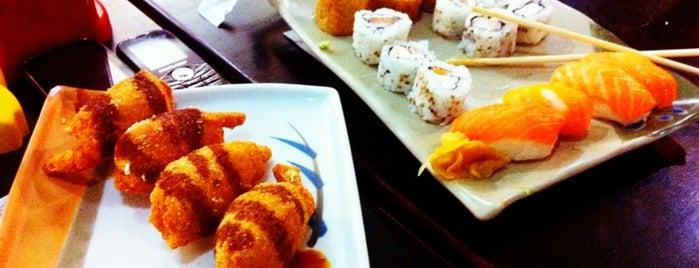 Panela Velha Sushi Bar is one of Wi-fi grátis.