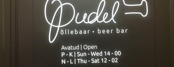 Pudel Baar is one of The Barman's bars in Tallinn.