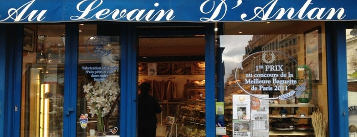 Au Levain d'Antan is one of Paris - best spots! - Peter's Fav's.