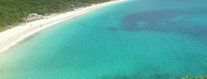Praia do Forno is one of Roteiro Arraial do Cabo.