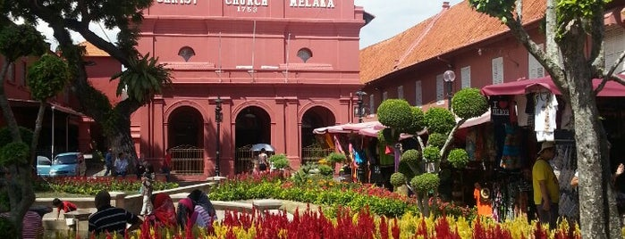 The Stadthuys is one of Melaka.