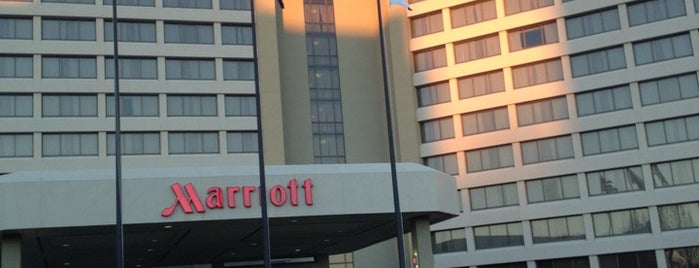 Overland Park Marriott is one of Hotels I've Stayed At.
