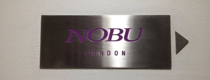 Nobu is one of Favorite Restaurants.