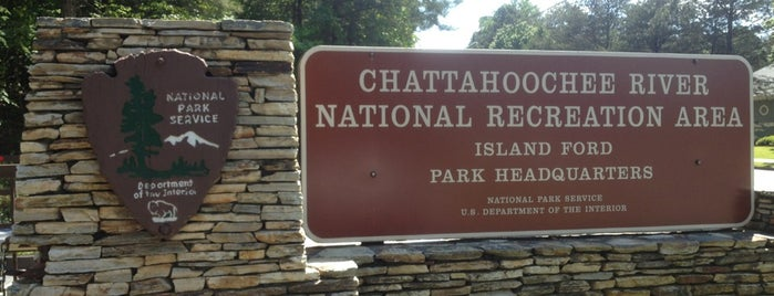 Chattahoochee River National Recreation Area is one of National Parks.