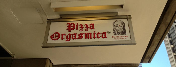 Pizza Orgasmica is one of San Francisco Eats.
