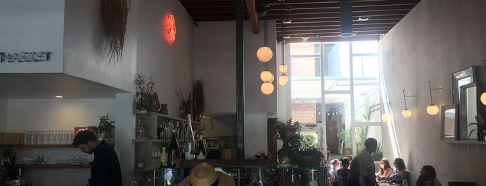 "Botanica is one of Eater's ""Hottest Restaurants in LA"" 2017 Map."