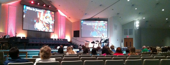 First Wesleyan Church is one of fav.