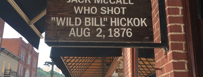 The Site of capture Of Assassin Jack McCall is one of Rapid City, SD.