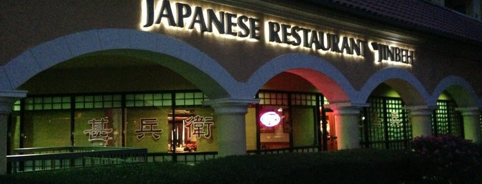 Jinbeh Japanese Restaurant is one of favs.