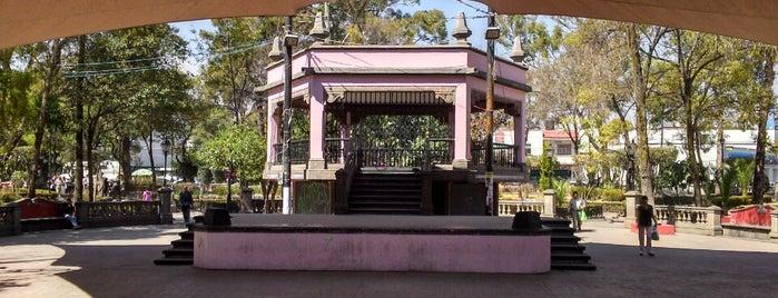 Jardín Miguel Hidalgo (Azcapotzalco) is one of Azcapunk.