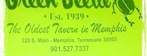 The Green Beetle is one of The 15 Best Places for Burgers in Memphis.