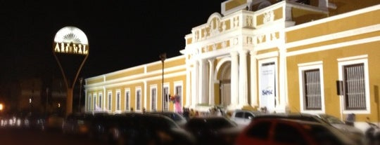 SESC Arsenal is one of Cuiabá.