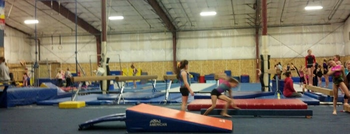 Flip Factory Gymnastics is one of Visited Here.