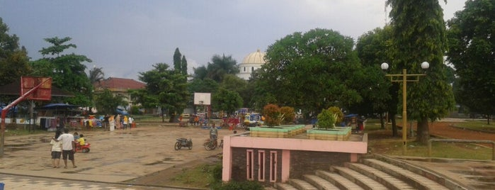 Alun Alun Pandeglang is one of @ disebuah desa.