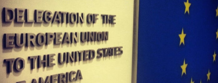 Embassy/Delegation of the European Union is one of DC.
