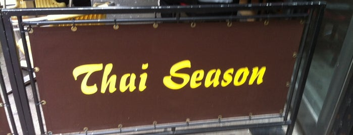 Thai Season is one of Places I love to eat at.