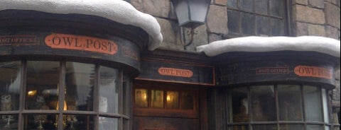 Owl Post (Owlery) is one of Universal's Wizarding World of Harry Potter.
