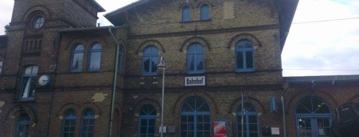 Bahnhof Bergen auf Rügen is one of Bahnhöfe DB.