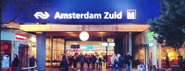 Station Amsterdam Zuid is one of Public transport NL.