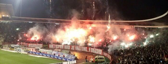 "Stadion ""Rajko Mitić"" is one of UEFA Champions League finals."