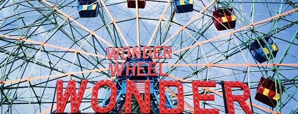 Deno's Wonder Wheel is one of Coalition Partners - One Percent for Culture.