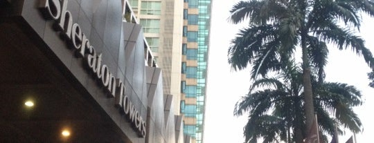 Sheraton Towers Singapore is one of Hotel Asia.
