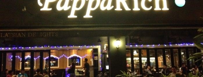 PappaRich is one of Makan @ Melaka/N9/Johor #15.